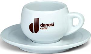 Чашка капучино с блюдцем Danesi