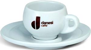 Чашка эспрессо с блюдцем Danesi