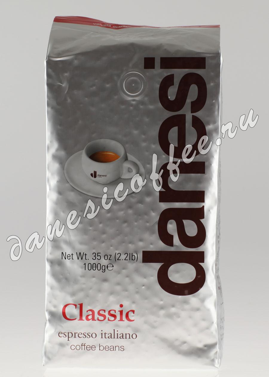 Кофе Danesi (Данези) в зернах Classic  1 кг