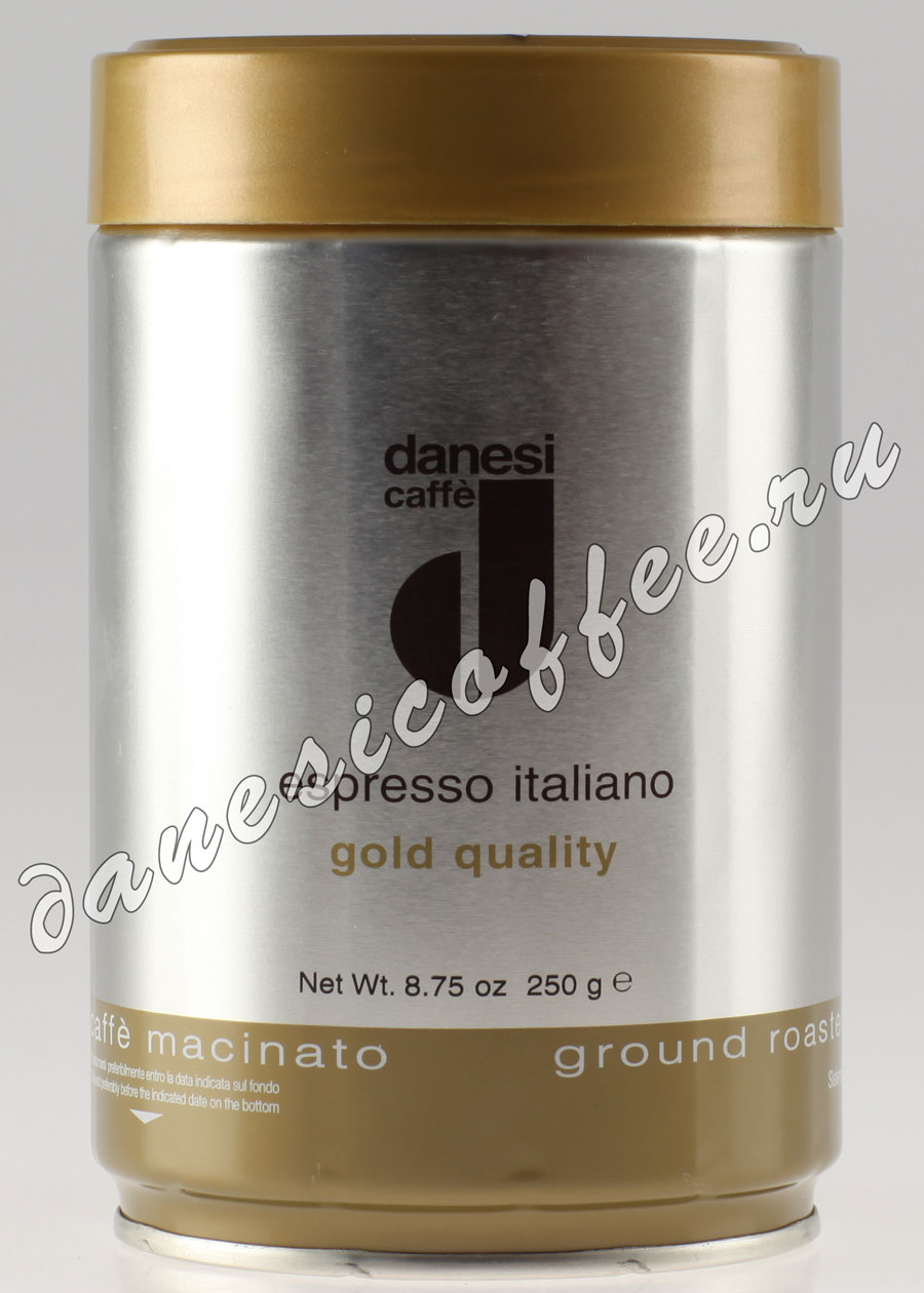 Кофе Danesi (Данези) молотый Gold